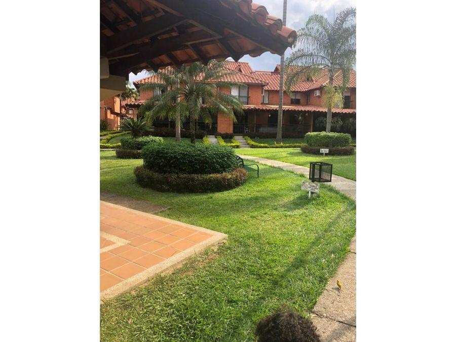 casa en condominio ciudad jardin sur cali cq