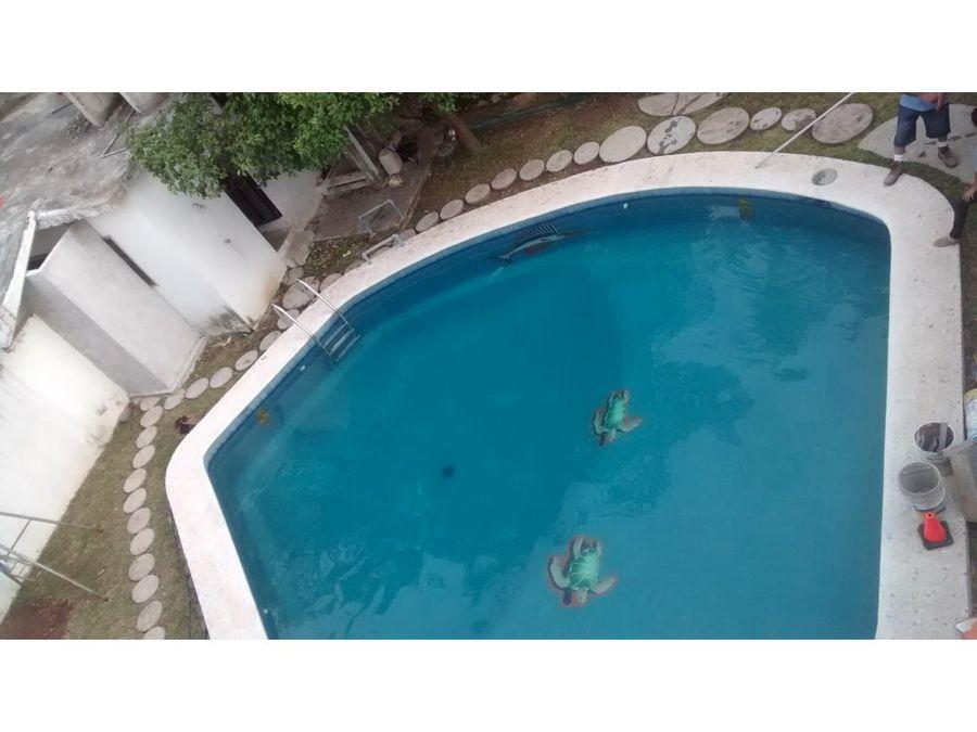 renta alberca para escuela de natacion