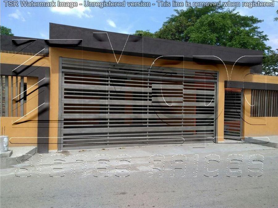 casa nueva en venta fracc flores del tropico en villahermosa tabasco
