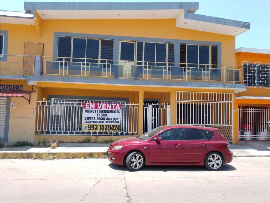 casa venta col ampliacion obrera ciudad pemex mpio macuspana