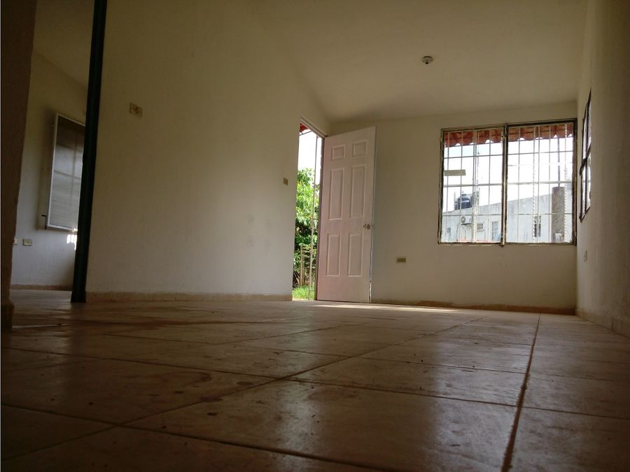 casa en venta una recamara las mercedes en villahermosa