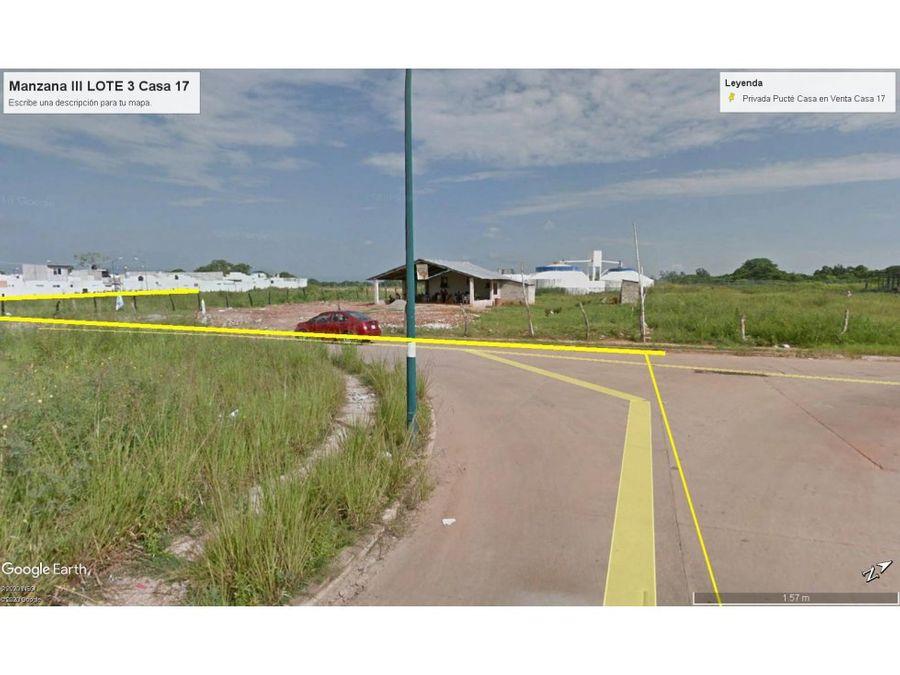 fracc la venta privada pucte casa en venta km 175 carretera a teapa