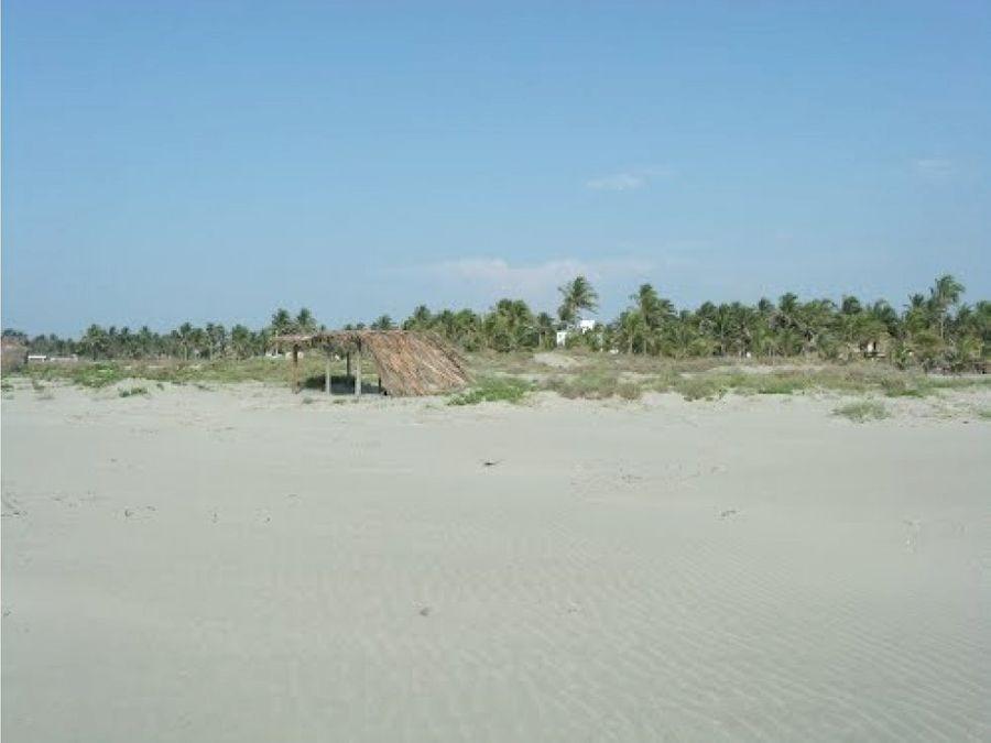venta terreno playa pico de oro