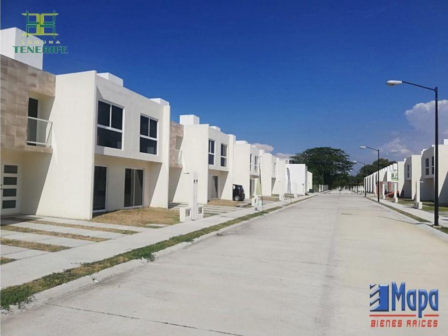 casas nuevas en venta nacajuca 2 y 3 recamaras