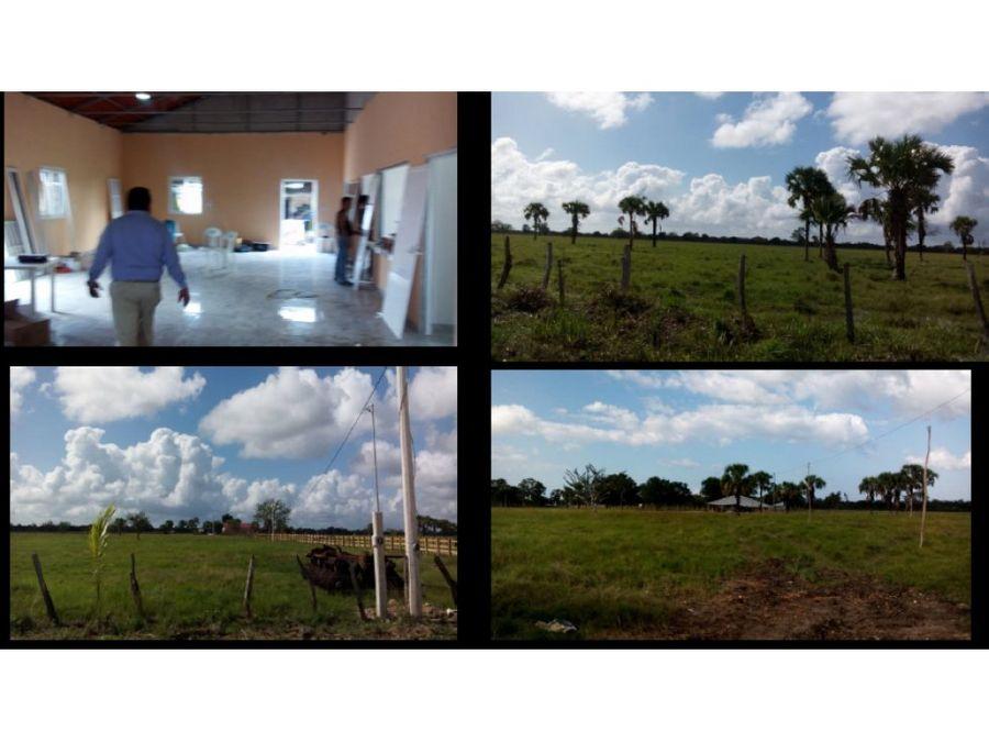 venta rancho las delicias 525ha chumpan camp