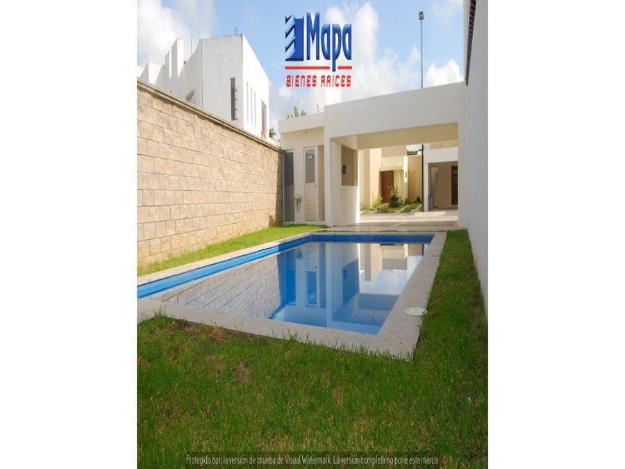 residencias nuevas en venta zona country con alberca comun