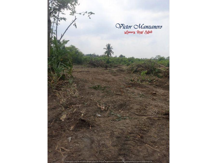 paraiso tabasco terreno en venta rancheria quintin arauz