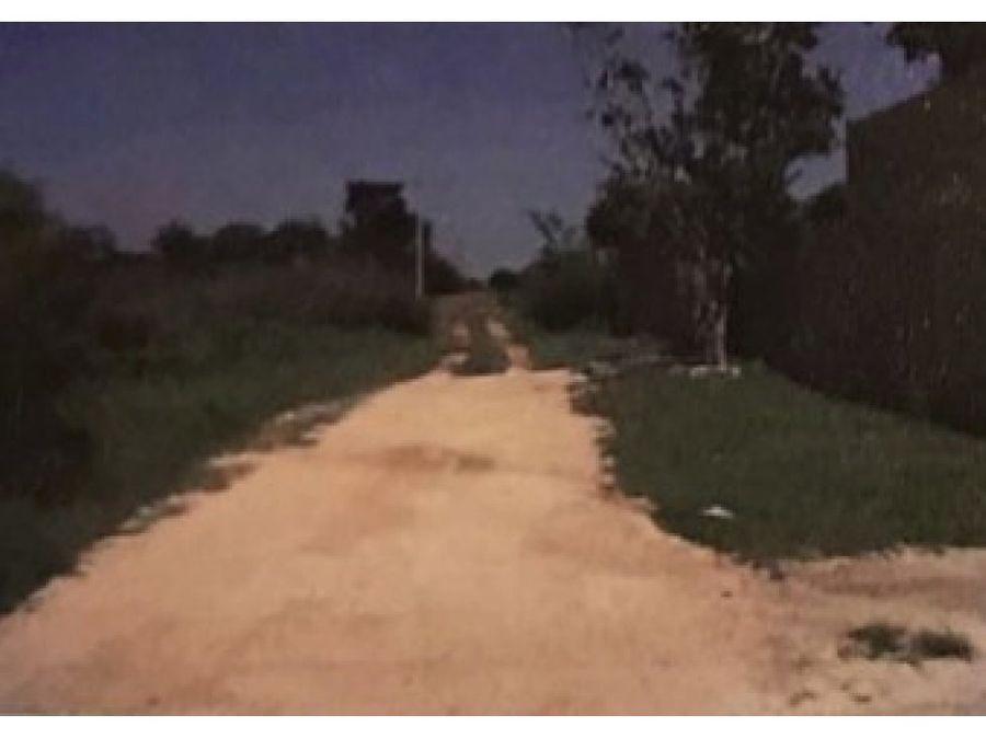 terreno en venta 2270 m2 en cholul yucatan