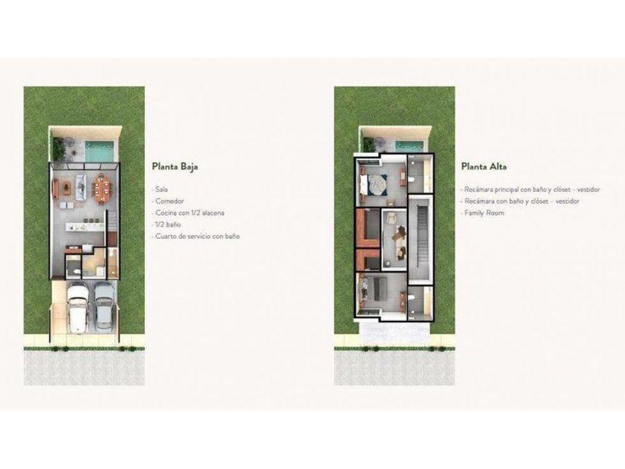 casa en ventapalta 152 modelo loft cholul