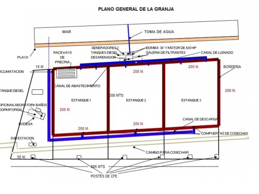 granja productora de camaron sisal yuc en venta