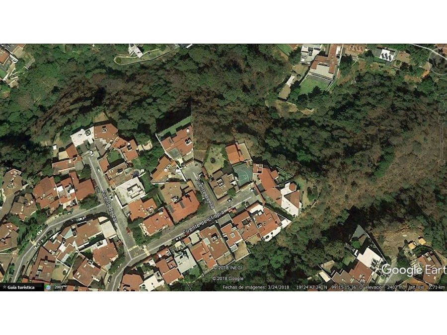 terreno en venta de 1852 m2 lomas de tecamachalc