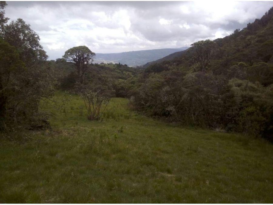 se vende hermosa finca guatavita 20 hectareas