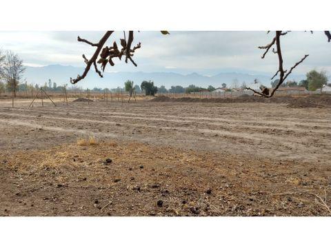 venta terreno 1000 m2 rinconada de los andes