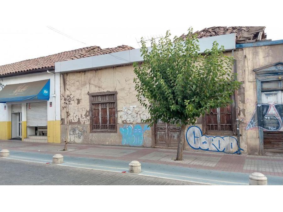 venta de terreno en ubicacion comercial en pleno centro de san felipe