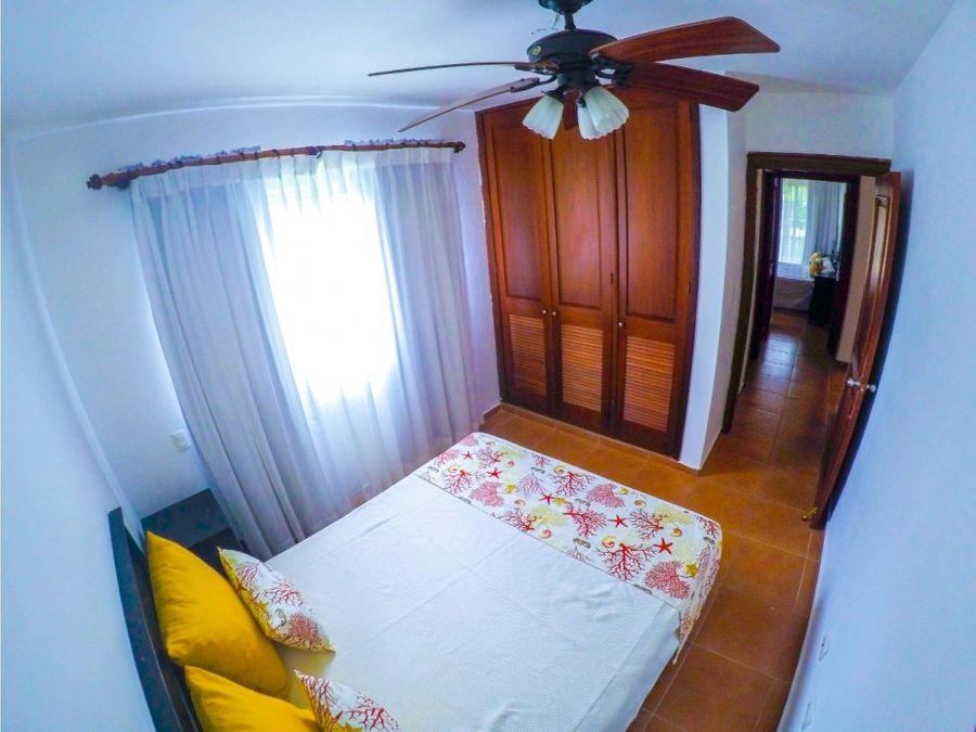 practico apartamento amueblado en cocotal