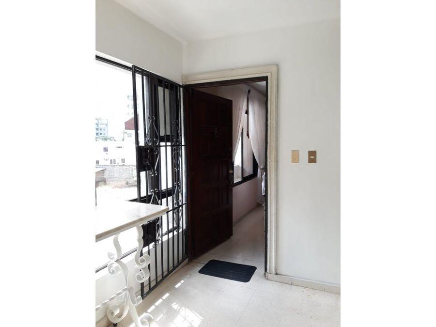 centrico apartamento amueblado en santo domingo