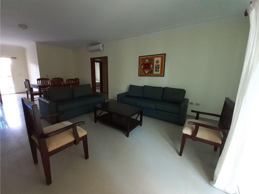 apartamento amueblado cerca de la playa en bavaro punta cana