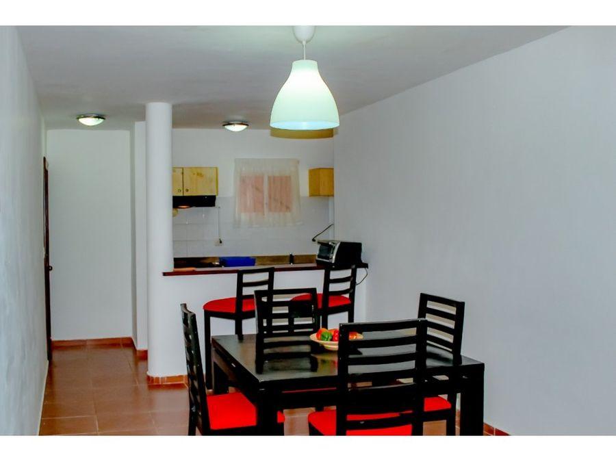 apartamento amueblado en cocotal bavaro