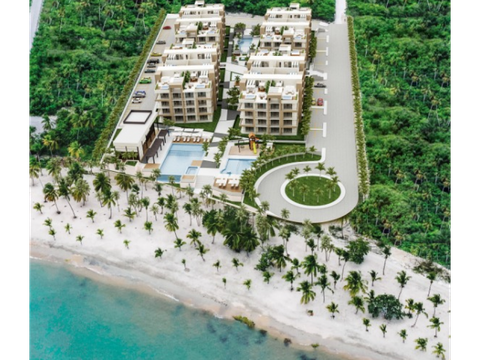 apartamentos frente al mar en playa nueva romana