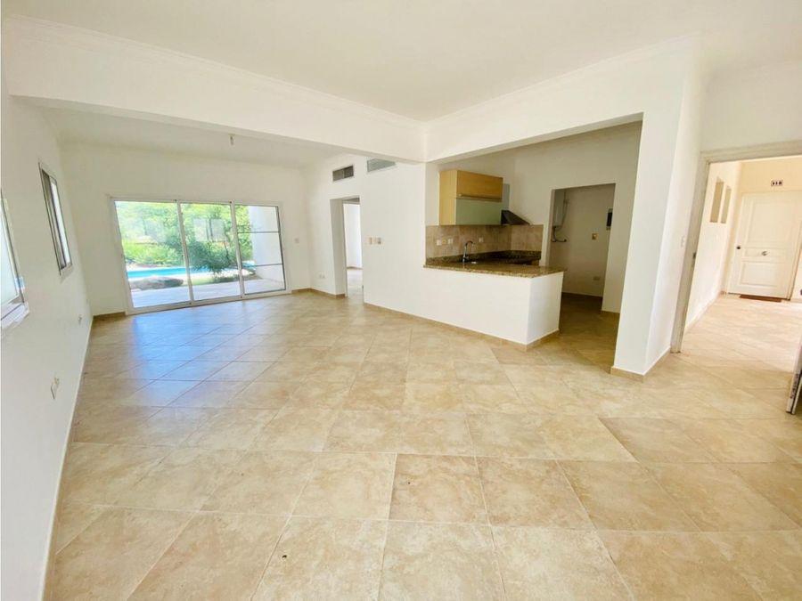 apartamento de 1 habitacion sin muebles en cocotal bavaro