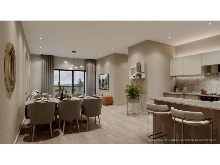 apacible proyecto de apartamentos de 2 habitaciones en bavaro