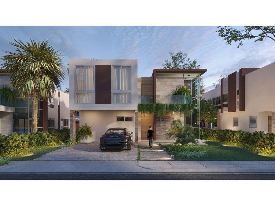 proyecto de hermosa villas en ciudad las canas cap cana