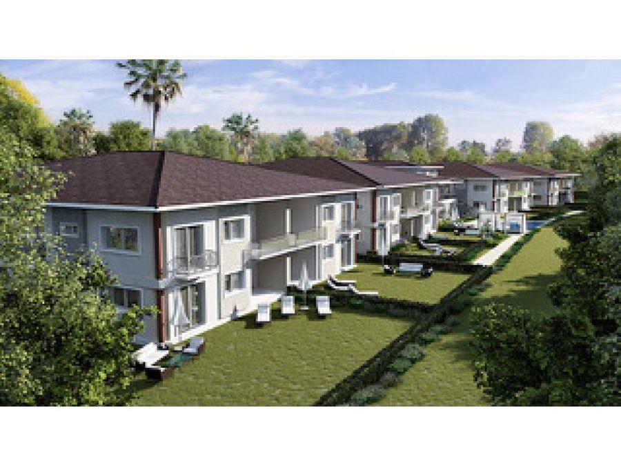 apartamentos junto al campo de golf cocotal