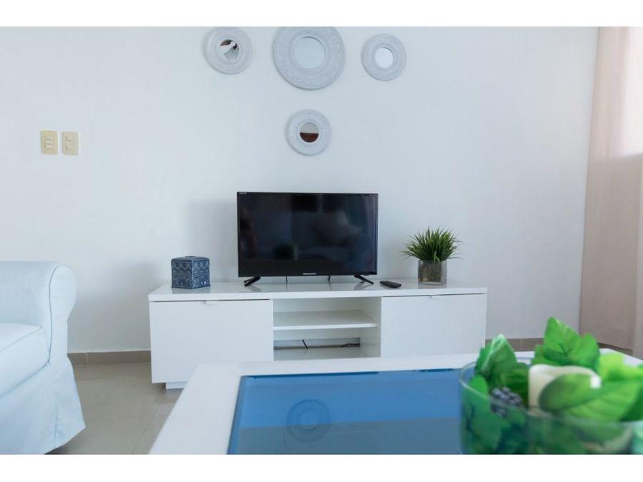 apartamento amueblado en los corales