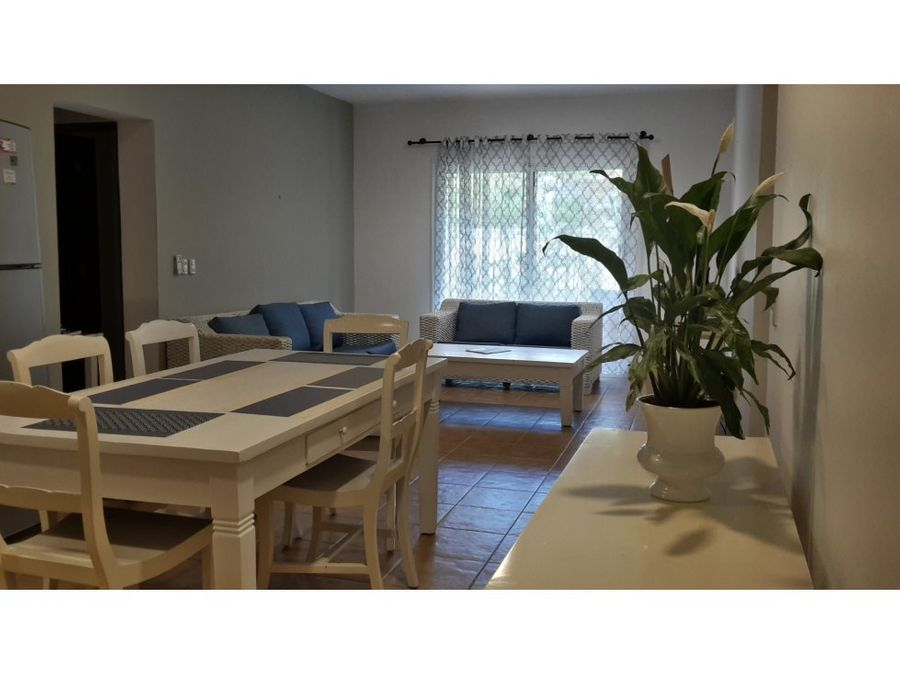 apartamento amueblado en cocotal