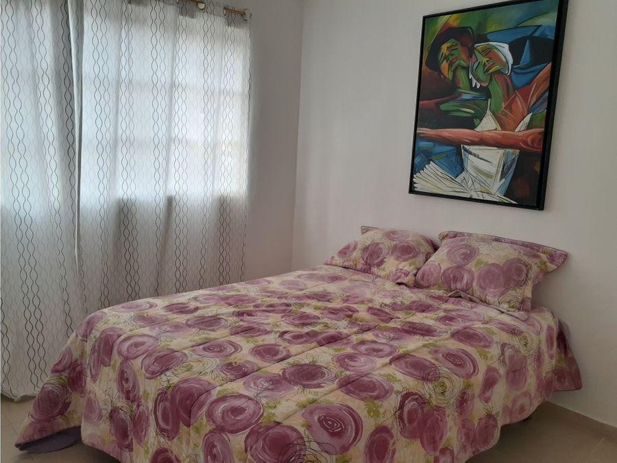 comodo apartamento amueblado en pueblo bavaro