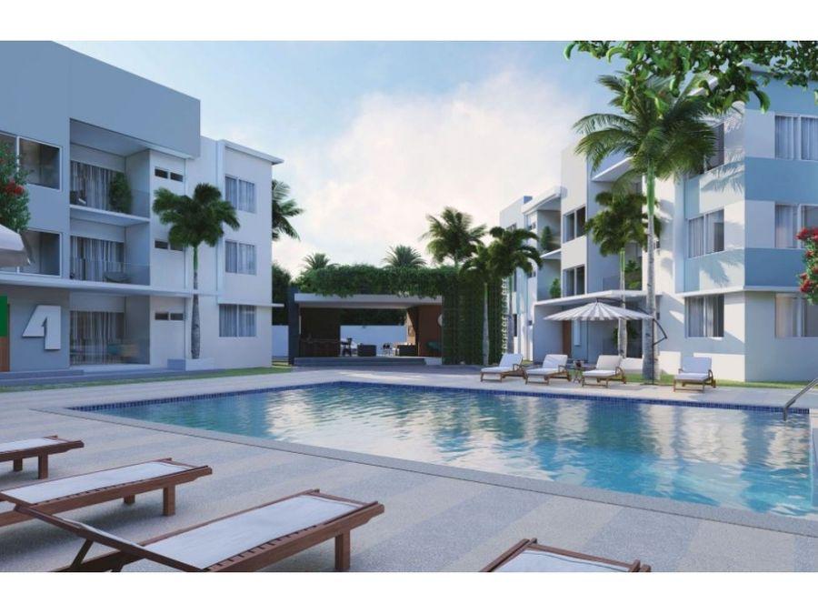 apartamentos con piscina cercano a playa bavaro punta cana
