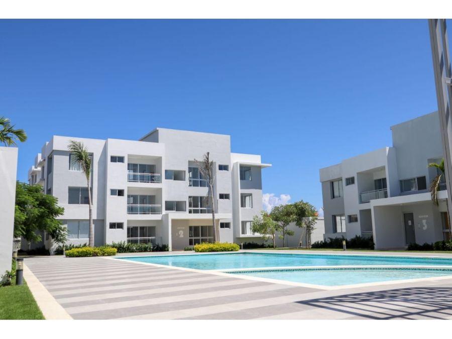 apartamentos con piscina y cerca de playa en bavaro punta cana
