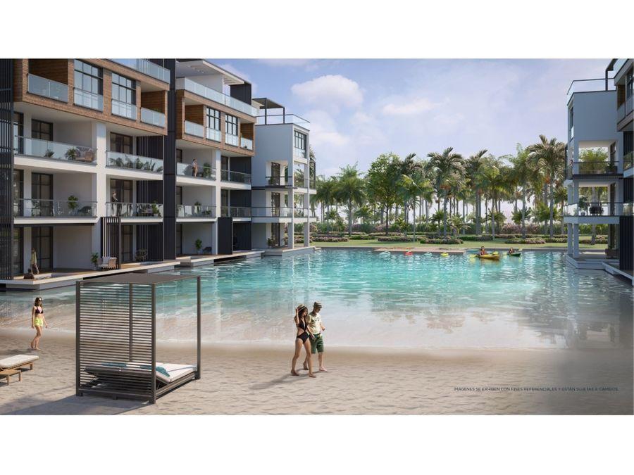 grandioso complejo habitacional con la piscina mas grande del caribe