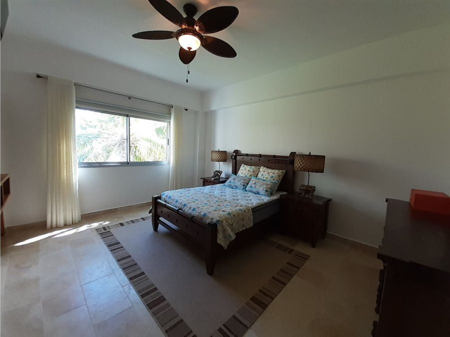 amplio apartamento amueblado en cap cana