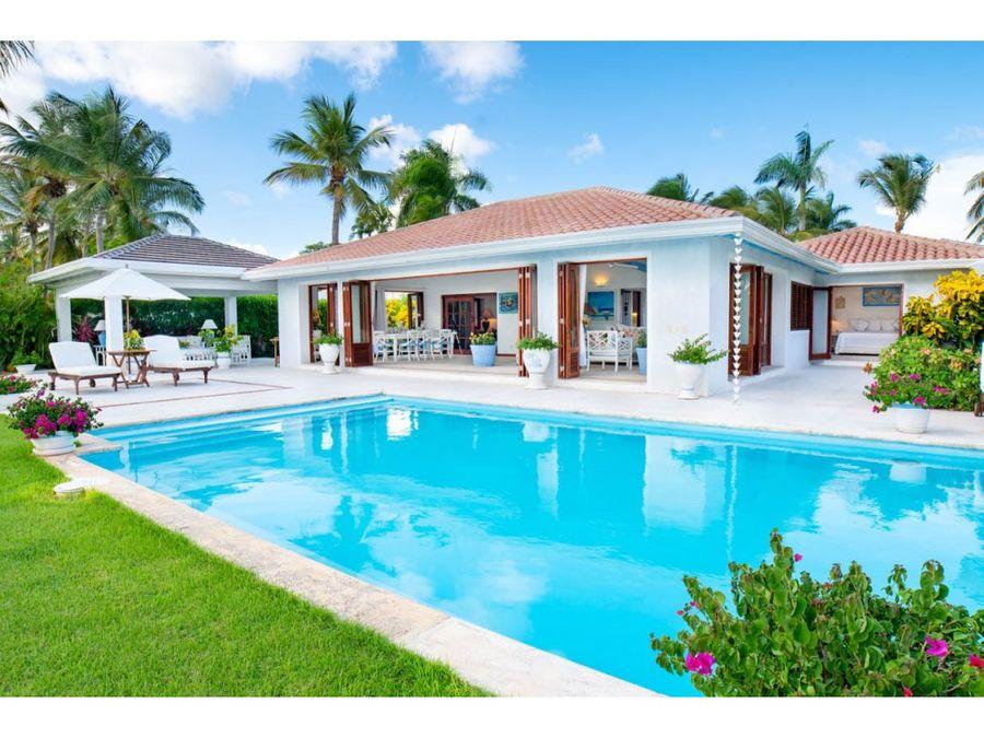 hermosa villa frente al oceano en casa de campo la romana
