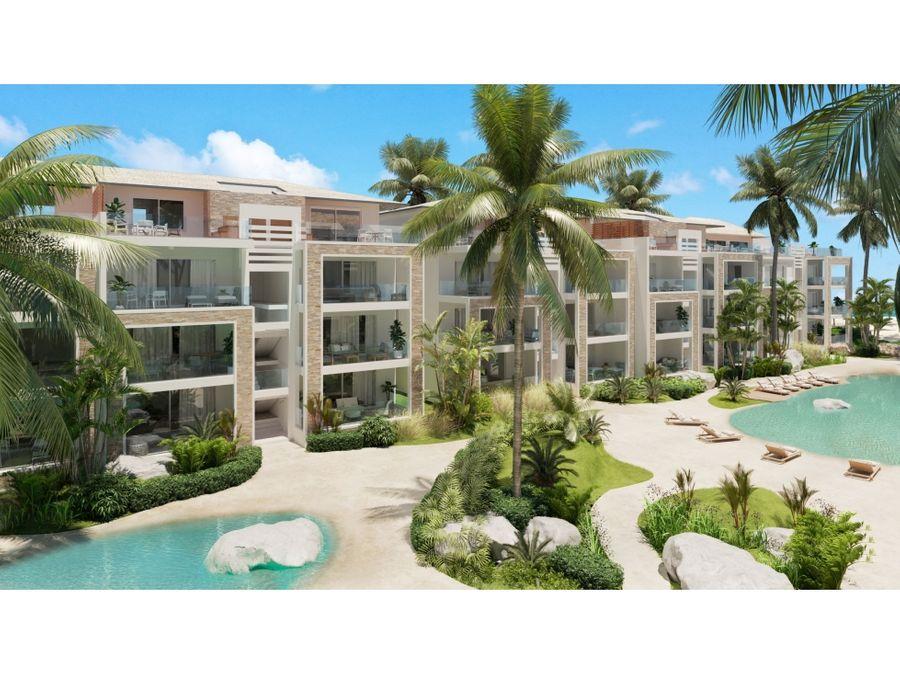 acogedores apartamentos en proyecto frente al mar en bayahibe