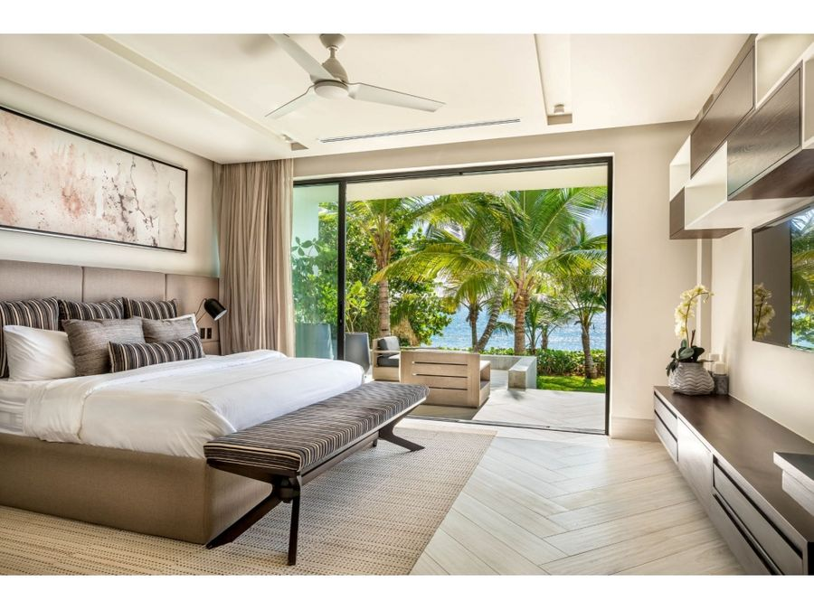 lujosa y espectacular villa frente al mar casa de campo