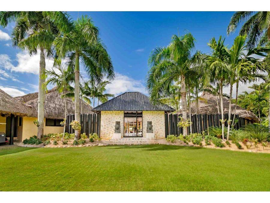 espectacular villa con linda vista a campo de golf casa de campo