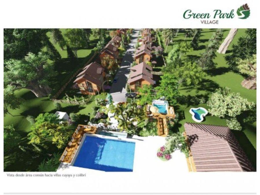 lujosas villas jilguero en green park village