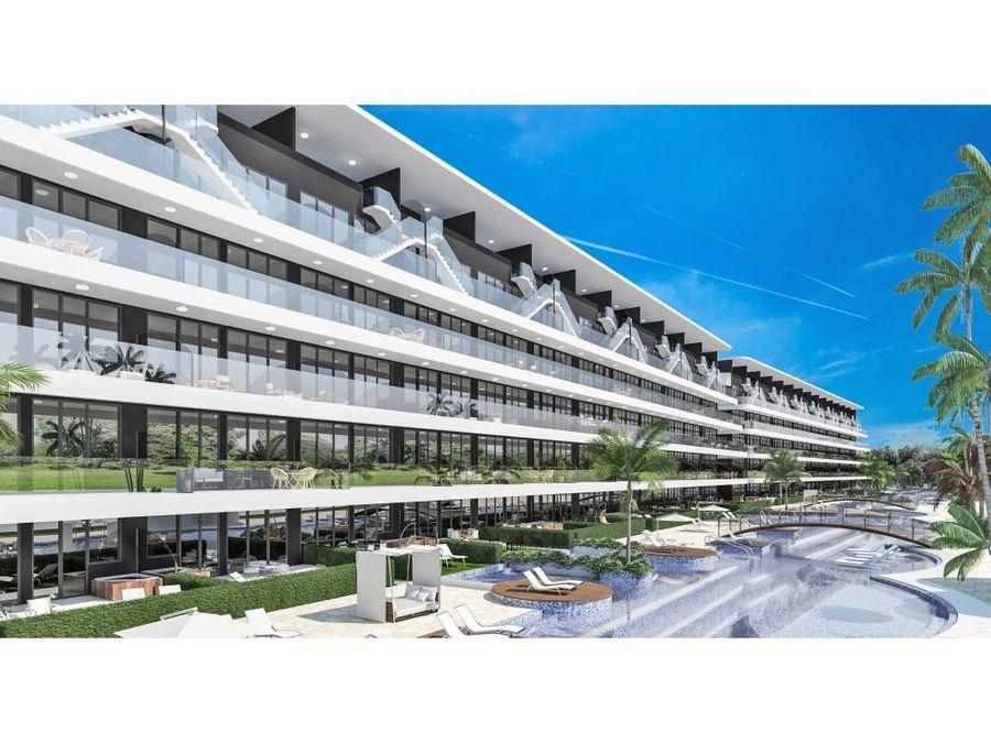 proyecto de apartamentos de playa en punta cana
