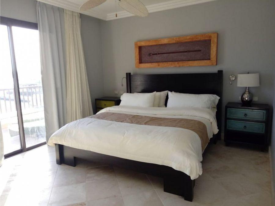 elegante apartamento amueblado en cap cana