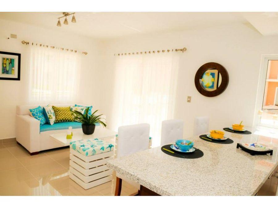 hermoso apartamento amueblado