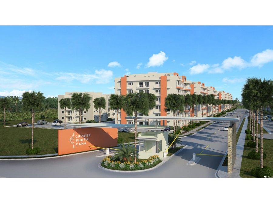 proyecto de apartamentos en bavaro
