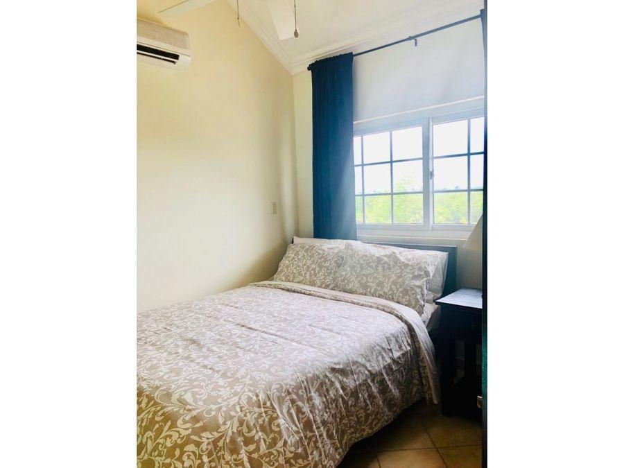apartamento amueblado con mezzanina en cocotal bavaro punta cana