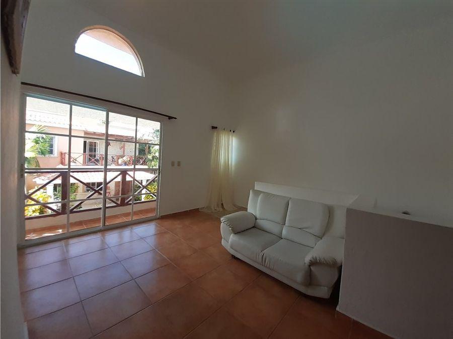comoda villa duplex amueblada en costa bavaro