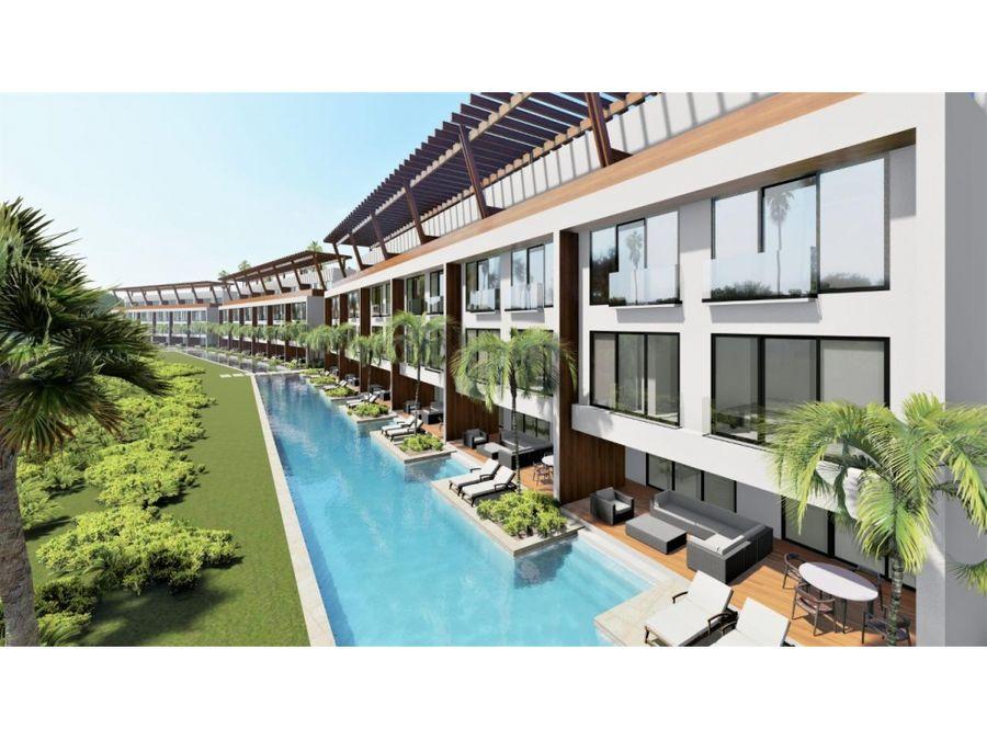 hermoso complejo de apartamentos amueblados en punta cana
