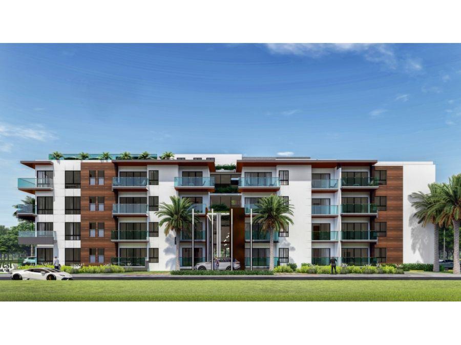 modernos apartamentos en punta cana village