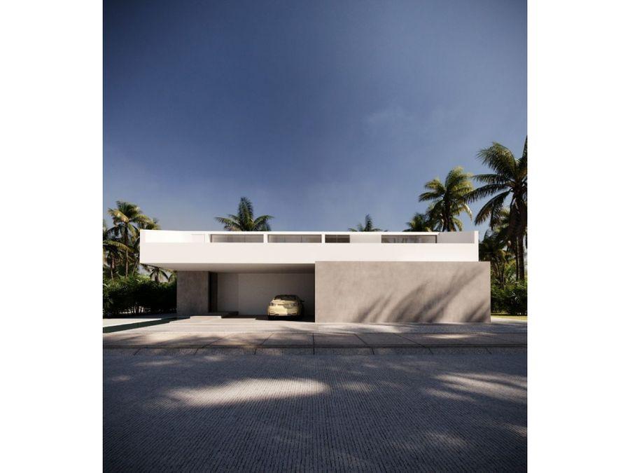cautivadora villa minimalista en punta cana
