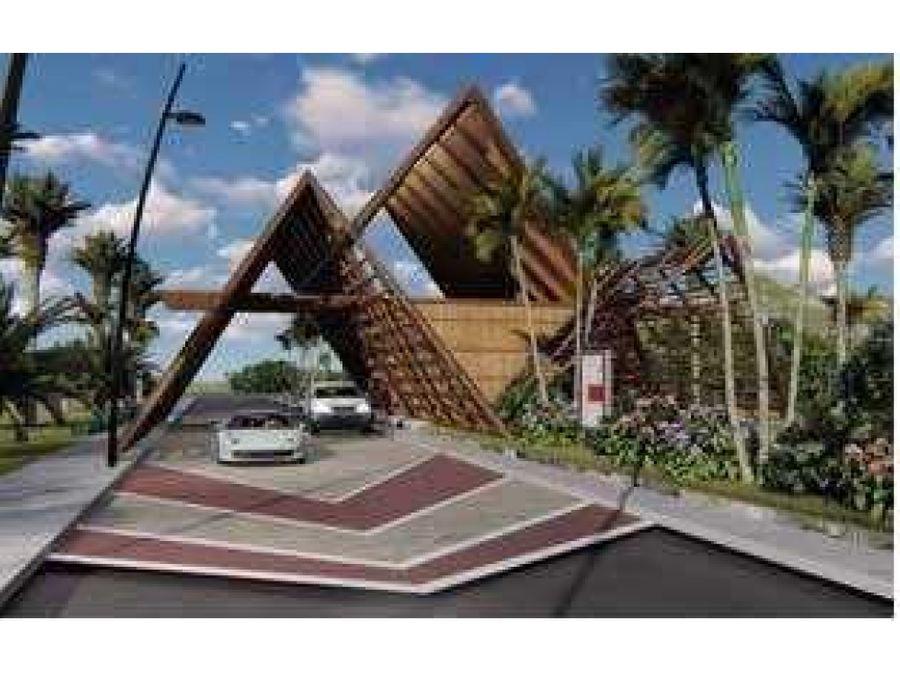 hermosas villas en proyecto con parque tematico en punta cana