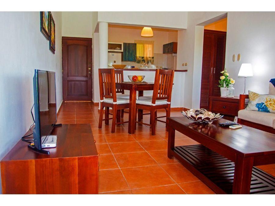 acogedor apartamento amueblado en cocotal